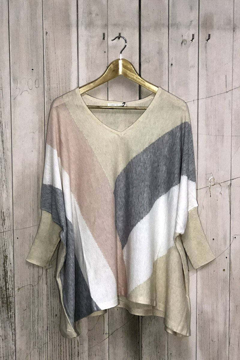 Blush Multi-Knit - Front